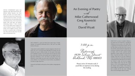An Evening of Poetry: Kosmicki, Catherwood, & Wyatt