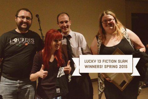 Lucky 13 Fiction Slam! Spring 2015