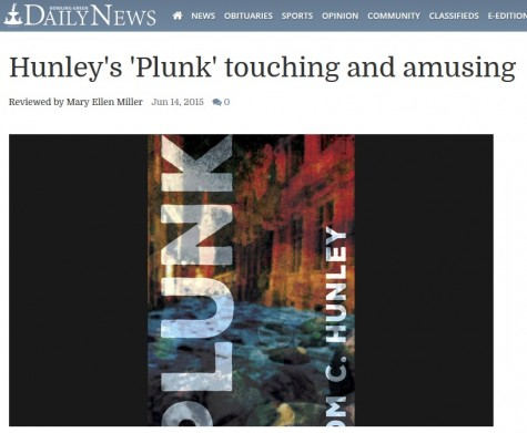 Book Review by Mary Ellen Miller: Hunley's 'Plunk' touching and amusing
