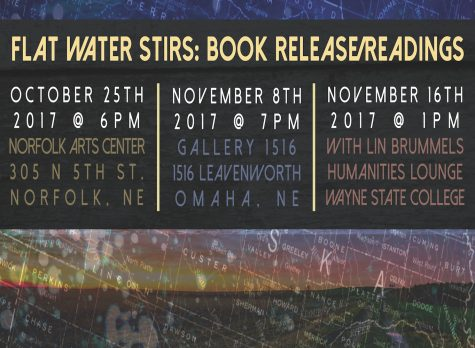 The Flat Water Stirs Book Release & Readings