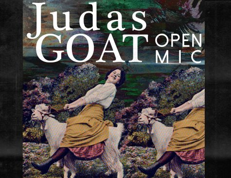 Judas Goat Book Release Party & Open Mic