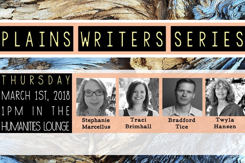 Plains Writers Series – March 1st, 2018