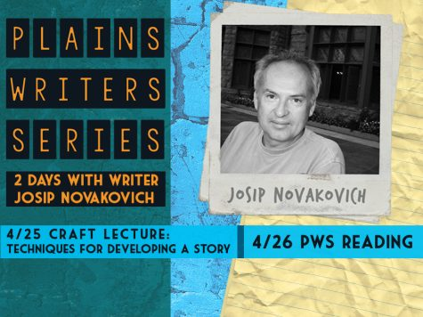 Plains Writers Series – April 25th & 26th, 2018