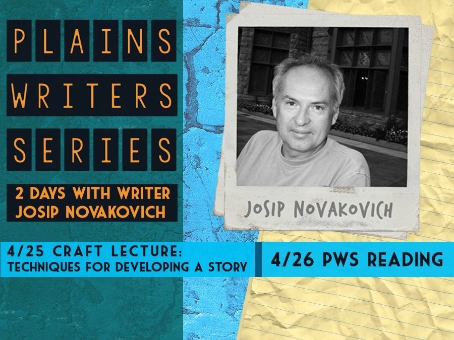 Plains Writers Series - April 25th & 26th, 2018