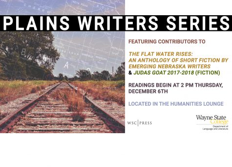 Plains Writers Series - Dec. 6th, 2018