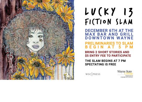 Fiction Slam!!!  Dec 7th, 2017 @ 7pm in Wayne America
