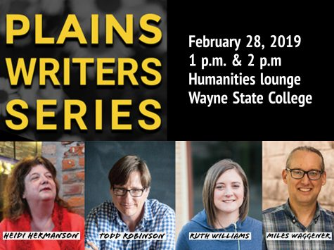 Plains Writers Series - February 28th, 2019