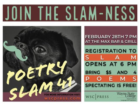 Poetry Slam XXXVII – March 2nd 2017