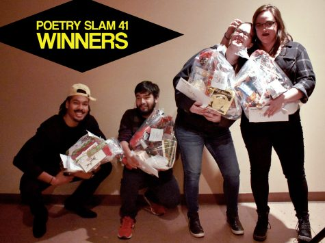 Poetry Slam 41 winners! Spring 2019