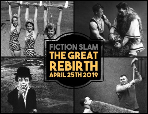 Lucky 13 Fiction Slam! April 26th, 2018 @ 7pm