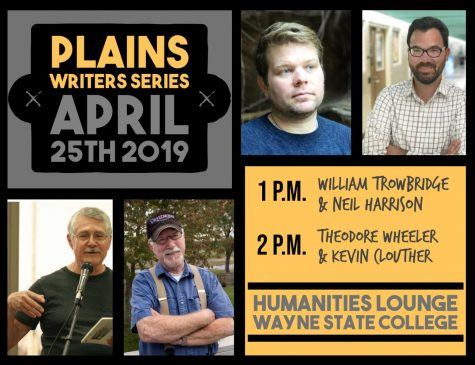Plains Writers Series – April 25th, 2019