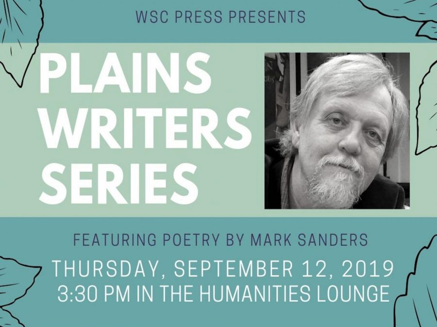Plains Writers Series – September 12, 2019