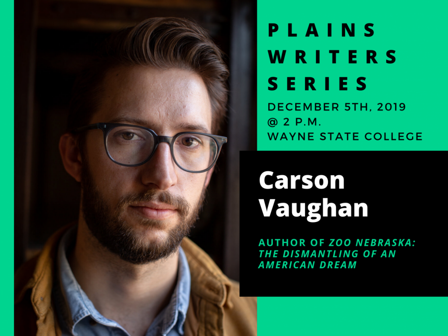 Plains Writers Series – December 5, 2019