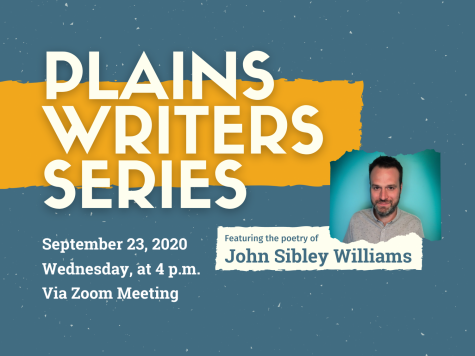 Plains Writers Series — Septemeber 23, 2020