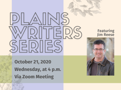 Plains Writers Series — October 21, 2020