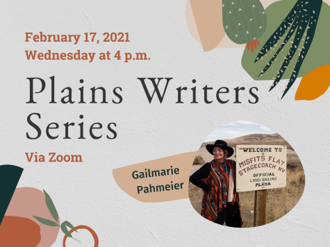 Plains Writers Series: February 17, 2021 Gailmarie Pahmeier