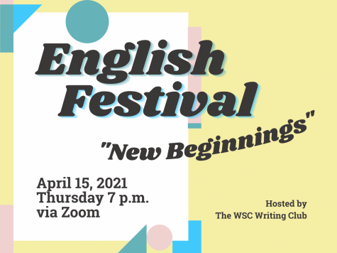 "English Festival - April 15, 2021 - ""New Beginnings"""