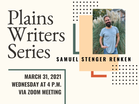 Plains Writers Series: March 31, 2021  Samuel Renken