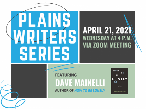 Plains Writers Series: April 21, 2021Dave Mainelli