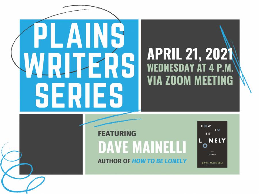 Plains Writers Series: April 21, 2021Dave Mainelli