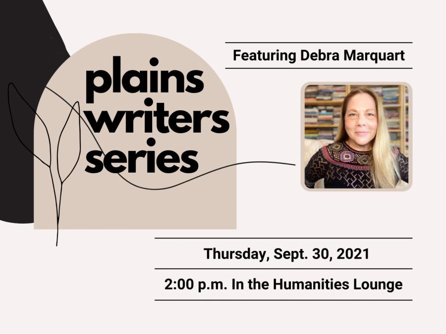 Plains Writers Series: September 30, 2021  Debra Marquart